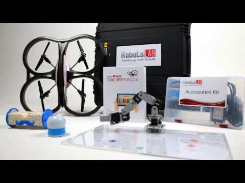 RobotsLAB BOX - The STEM Teaching-Aid for Math and Science