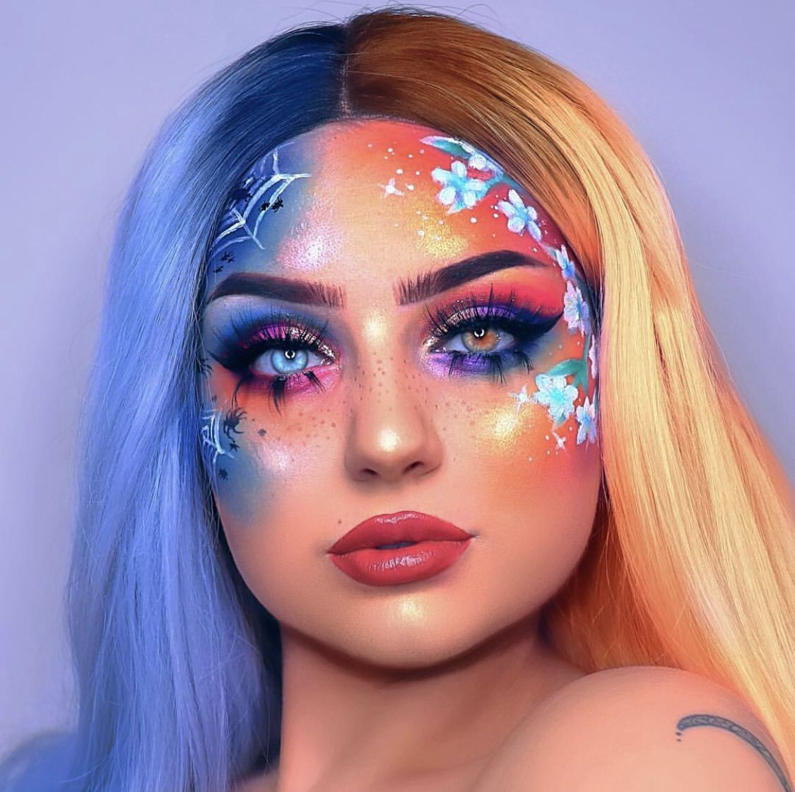 Creative makeup looks by Vanessa W on M A K E U P