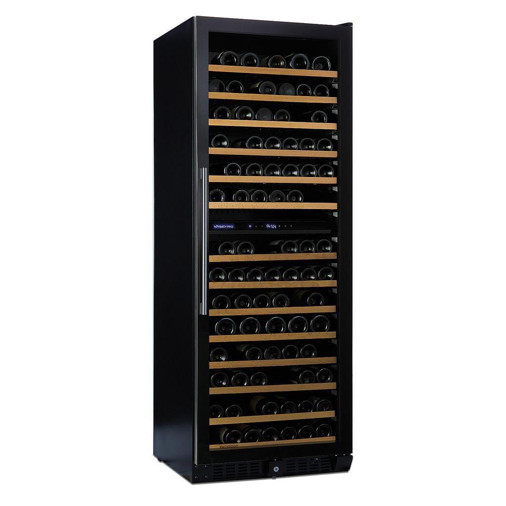 Wine Enthusiast N'finity PRO LX 187-Bottle 26 in. Dual Zone Wine Cellar, Full Glass Door