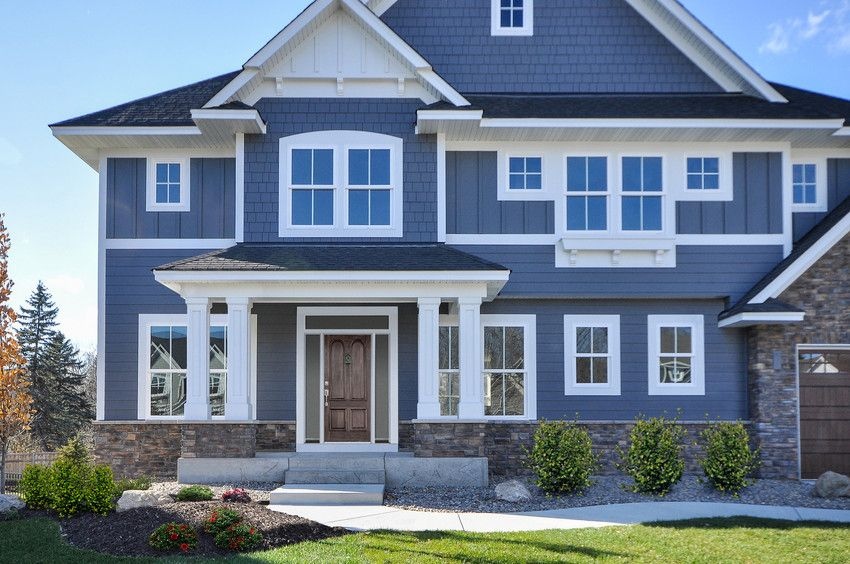 Color Spotlight James Hardie Siding Reliable Exteriors House Paint Exterior Exterior Paint Colors For House House Exterior Blue