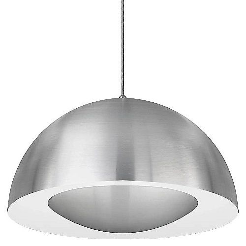 Sophisticated led technology meets a timeless design with the kuzco lighting 40114 led pendant this
