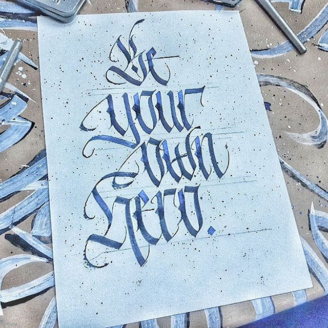 Making a poster. Letter art, Instagram posts, Handcraft