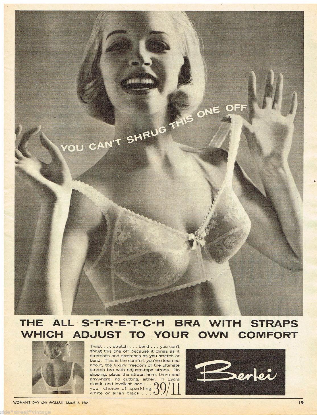 ee0b0c0b49 Stretch bra straps in the 1960s