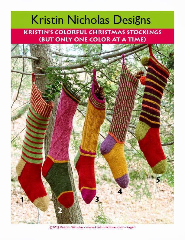 NEW! Kristin\'s Colorful Christmas Stocking PDF | Ideen | Pinterest ...