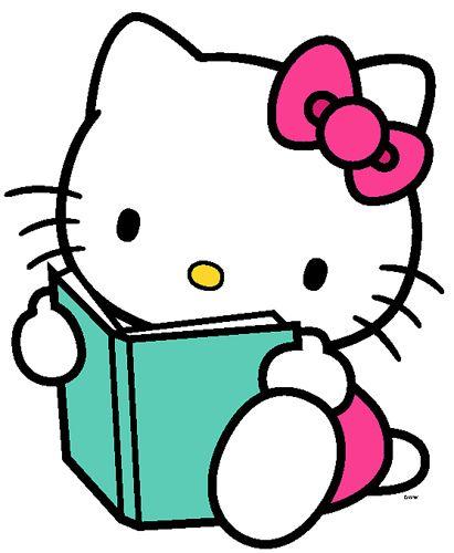 hello kitty reading | Makes Me Smile! | Pinterest | Hello kitty ...
