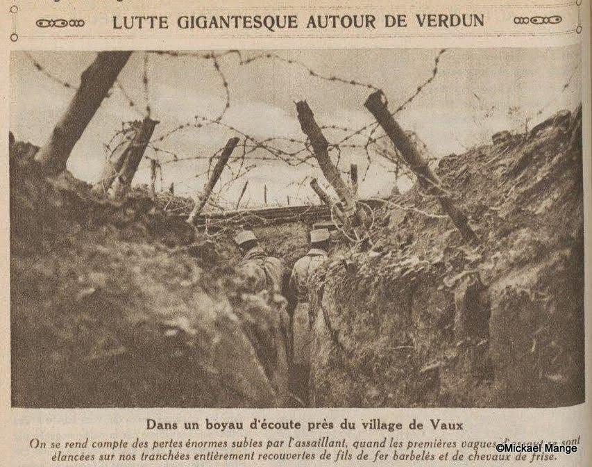 Ww1 1916 Battle Of Verdun Gigantic Struggle Around Verdun C Mickael Mange Raymond Carrel De Paladru A Verdun Genealogie Verdun History Four Horsemen