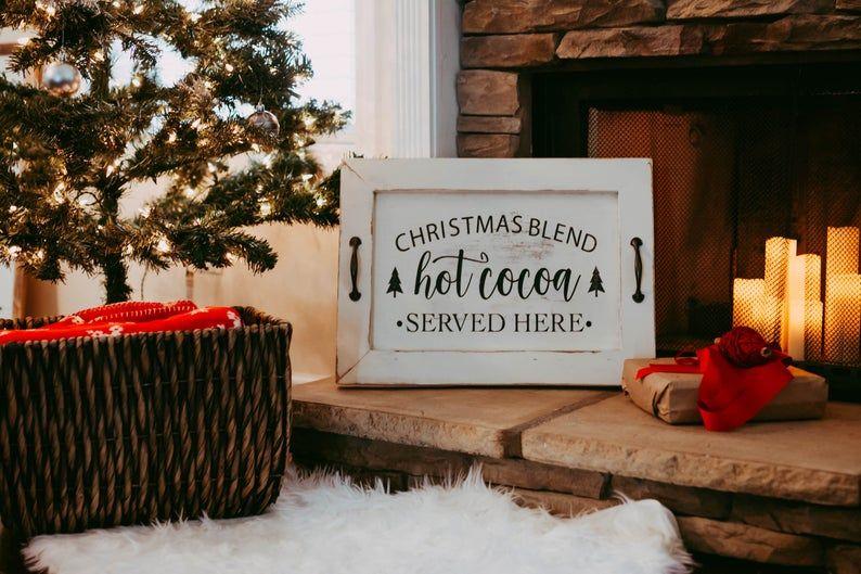 Hot Chocolate Bar | Christmas Signs | Christmas Decorations | #hotchocolatebar