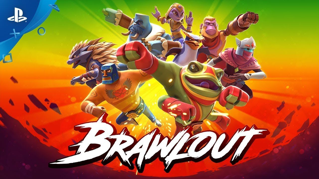 Brawlout Release Date Trailer PS4 gaming ps4