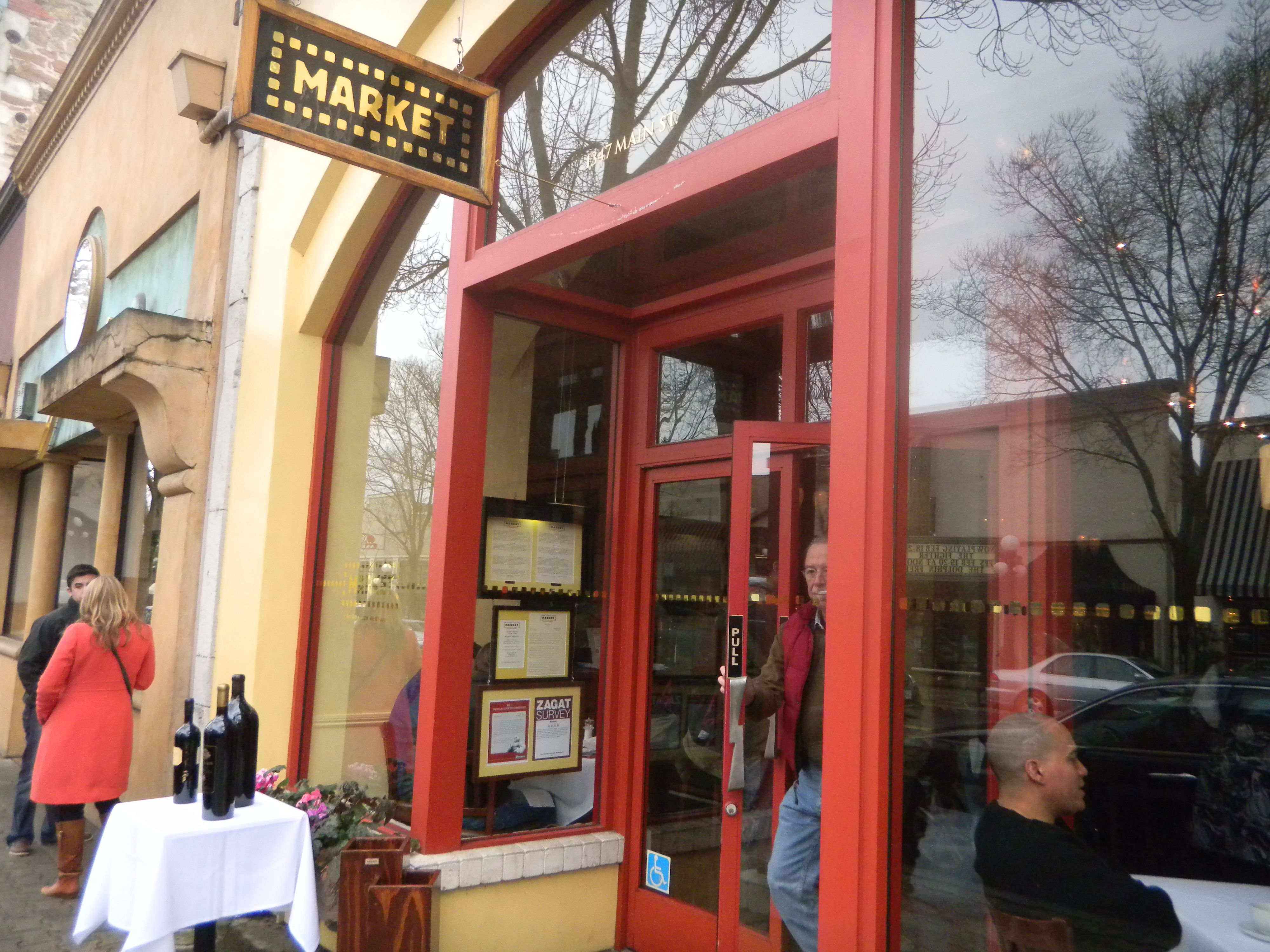 The Market Restaurant In St Helena Ca American Restaurant Wine And Dine Wine Tasting