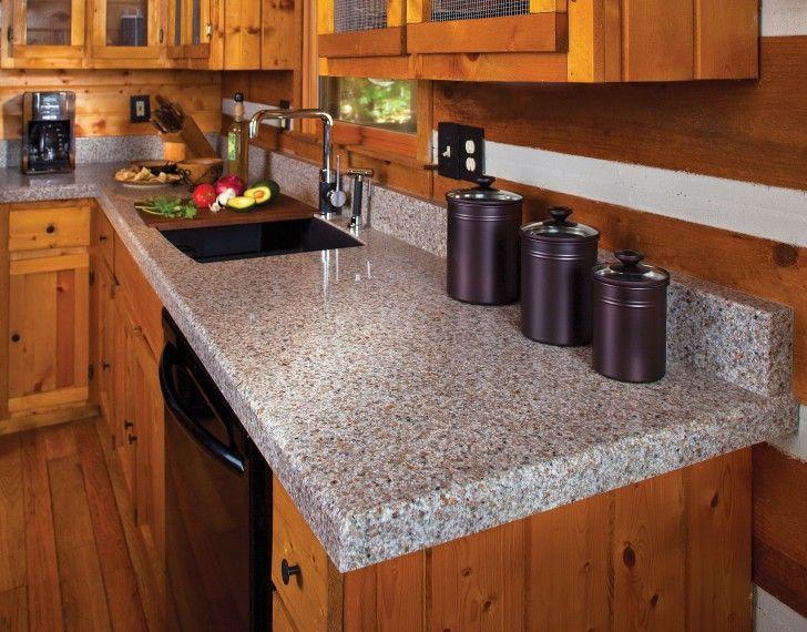 Kitchen Getting Good Combination Between Granite Countertop And