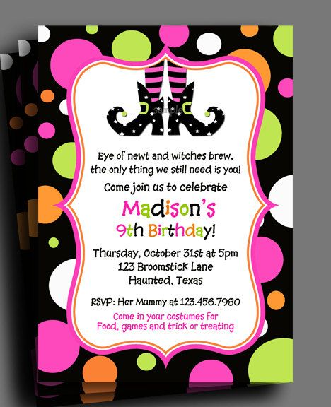 It's just a photo of Free Printable Halloween Party Invitations in halloween themed