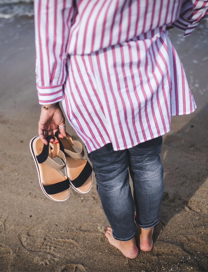 Schuhe für Damen: Auch am Strand dürfen die neuen ara