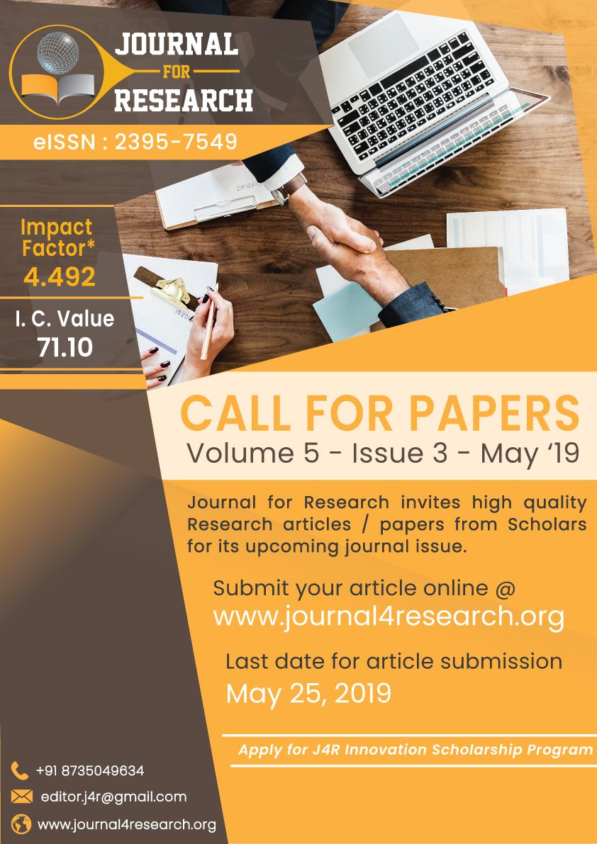 Journal4research Callforpaper Science Journal Research Paper Journal