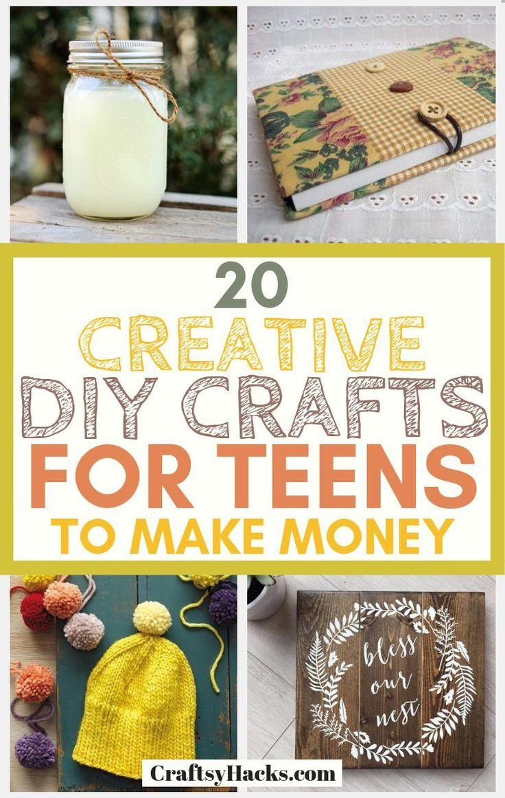 20 Creative DIY Crafts for Teens to Make Money Diy
