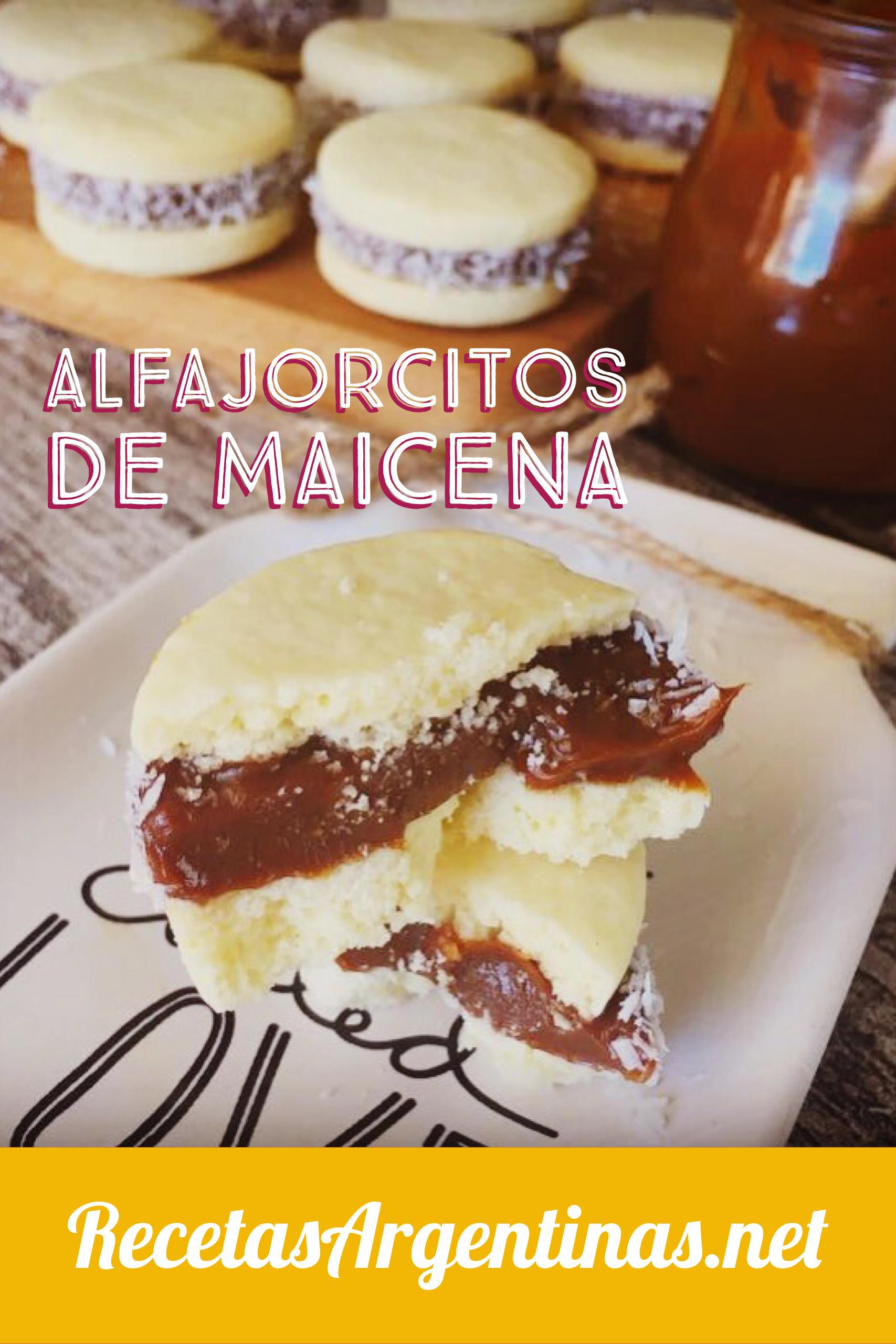 Alfajores De Maicena Recetas Xa Hacer Pinterest Recetas