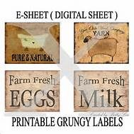 Printable Primitive Pantry Labels     Yahoo Image Search Results