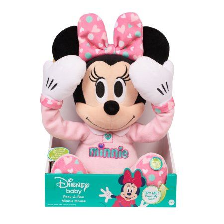 72f110b11f4 Disney Baby Peek-A-Boo Plush-Minnie