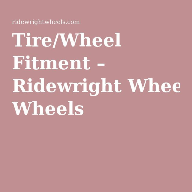 Tire Wheel Fitment In 2020 Motorcycle Tires Tire Wheel