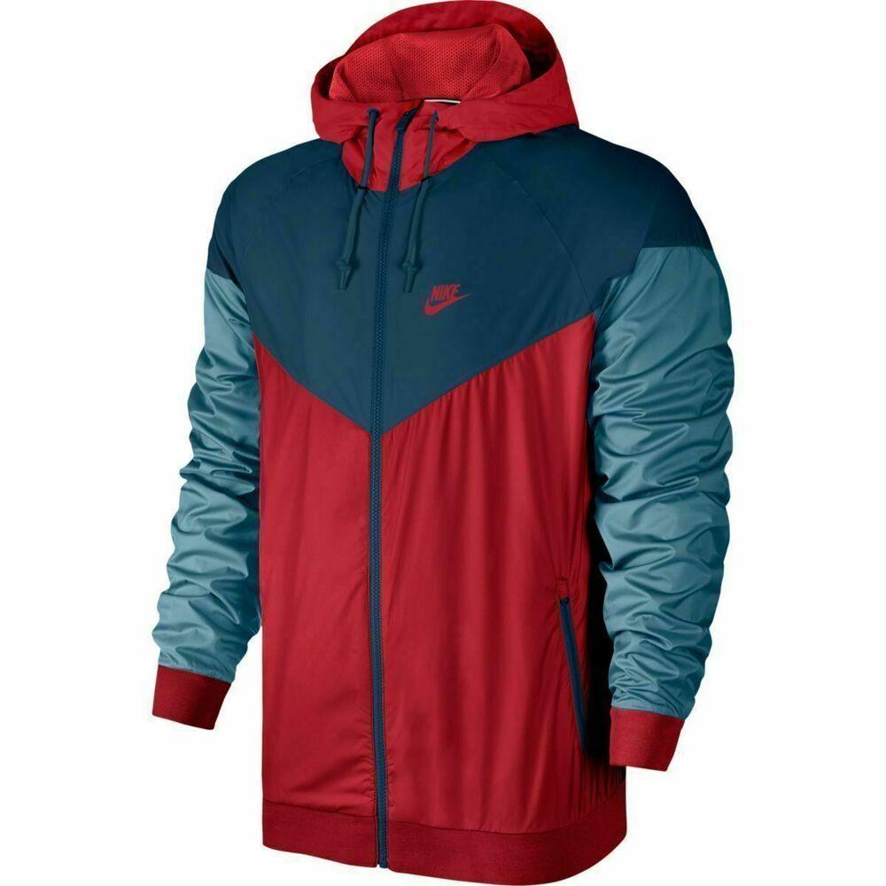 Nike Sportswear Windrunner Jacket Mens XL University Red