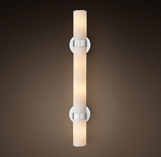 RH\'s Sutton Grand Sconce:Sutton brings a quality hotel aesthetic to ...