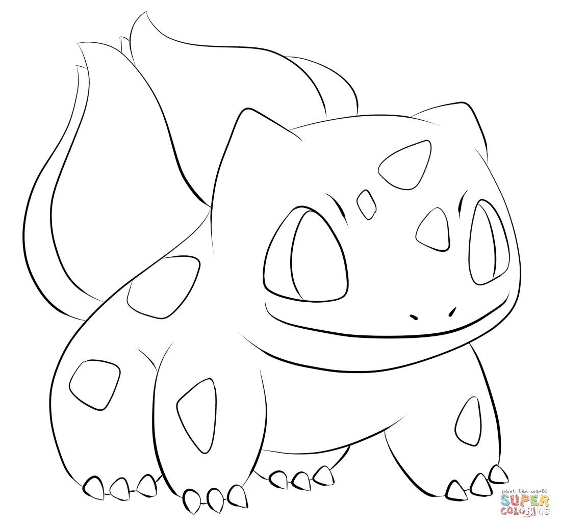 Bulbasaur Coloring Page Free Printable Coloring Pages Pokemon Coloring Pages Pokemon Coloring Coloring Books
