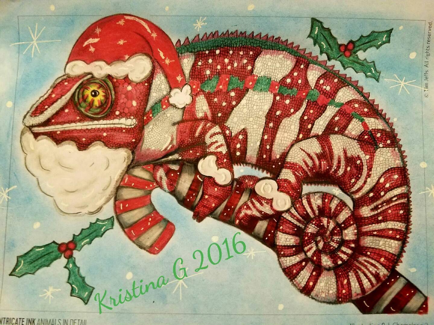 No 19 Kristine Ferrara Grigoli Chameleon