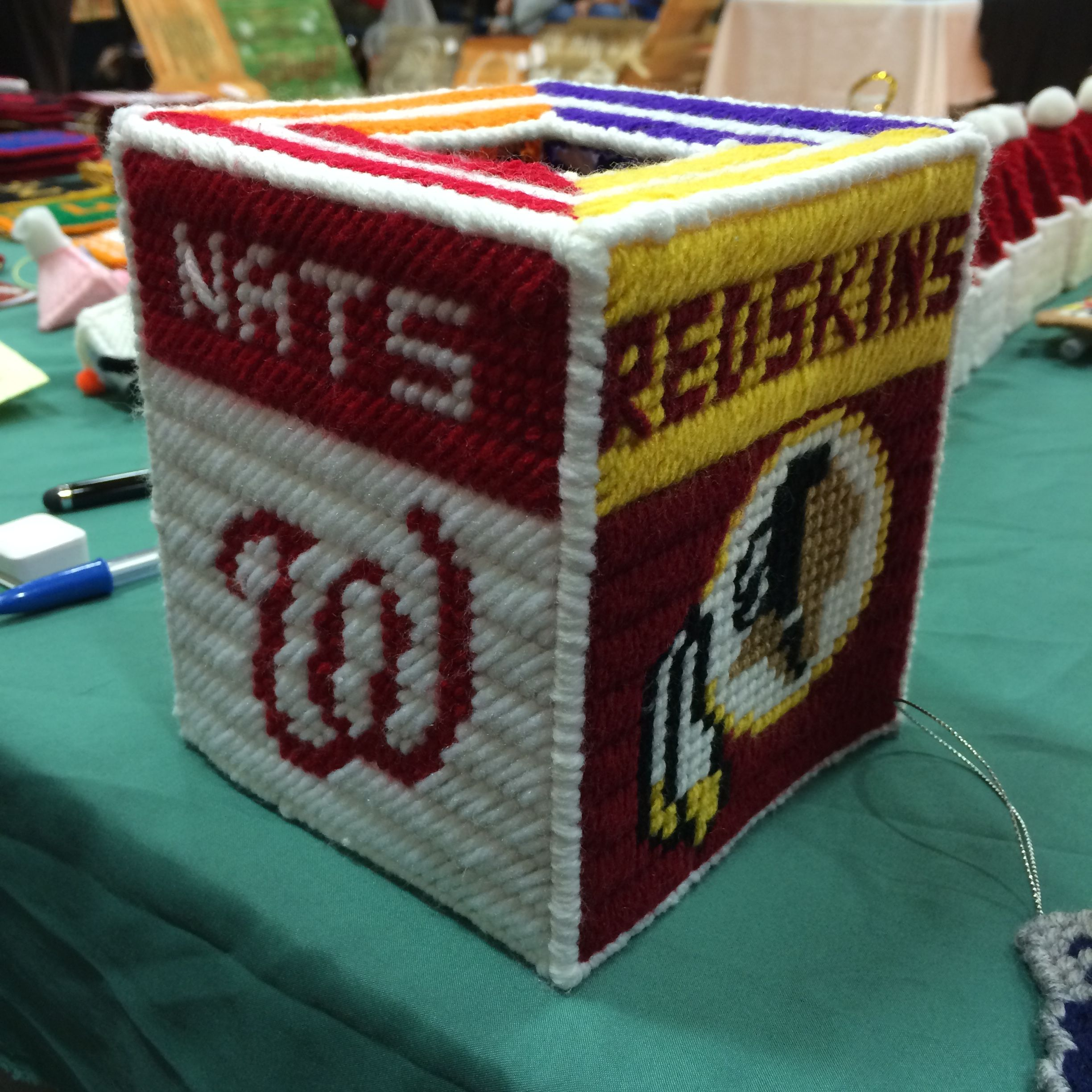 Washington Redskins and Washington Nationals combined with Orioles and Ravens