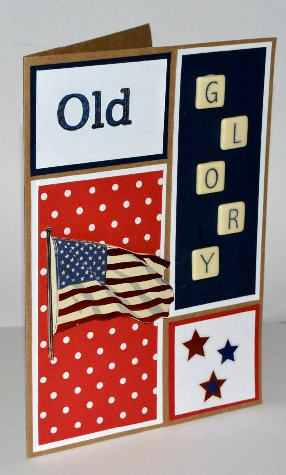 independence day 4th of july handmade card  cards