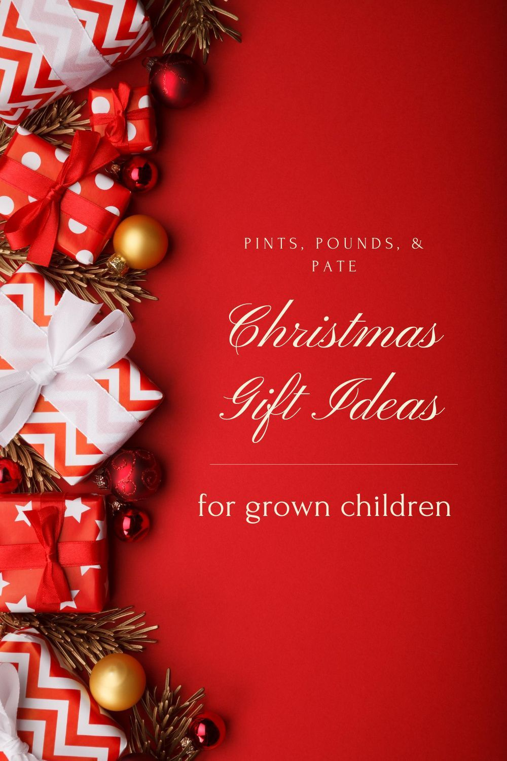 Christmas Gift Ideas For Grown Children In 2020 Traditional Christmas Ornaments Christmas Gifts For Adults Simple Christmas Cards