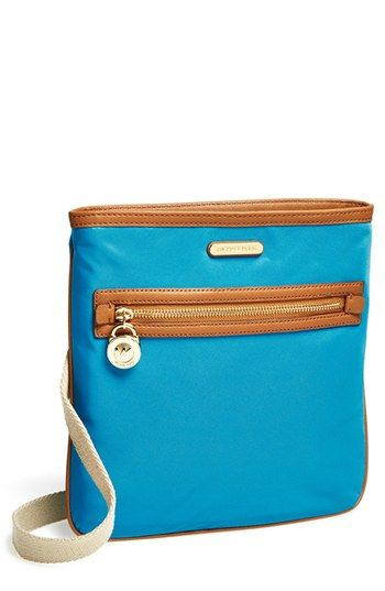 9445eb4983df $88, Aquamarine Canvas Crossbody Bag: MICHAEL Michael Kors Michl Michl Kors  Kempton Crossbody Bag