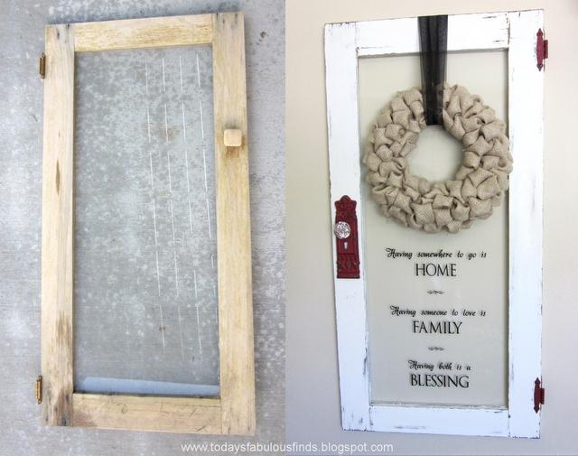 beautiful repurpose of old door into wall hanging | DIY recycle ...