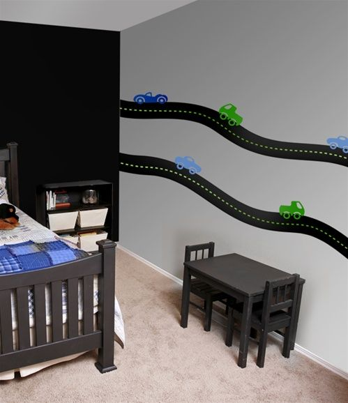 Road Car Wall Decals Stickers For Kids Pinterest Wall - Wall decals carsracing car wall decal ideas for the kids pinterest wall