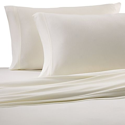 Bed Bath And Beyond Jersey Sheets Pleasing Pure Beech® 100% Modal Jersey Knit Queen Sheet Set In Natural Inspiration