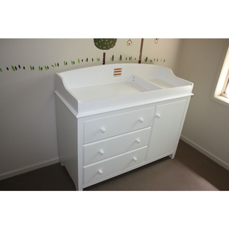 My Deals.com.au $259+shipping 100mm Height White Baby Change Table With
