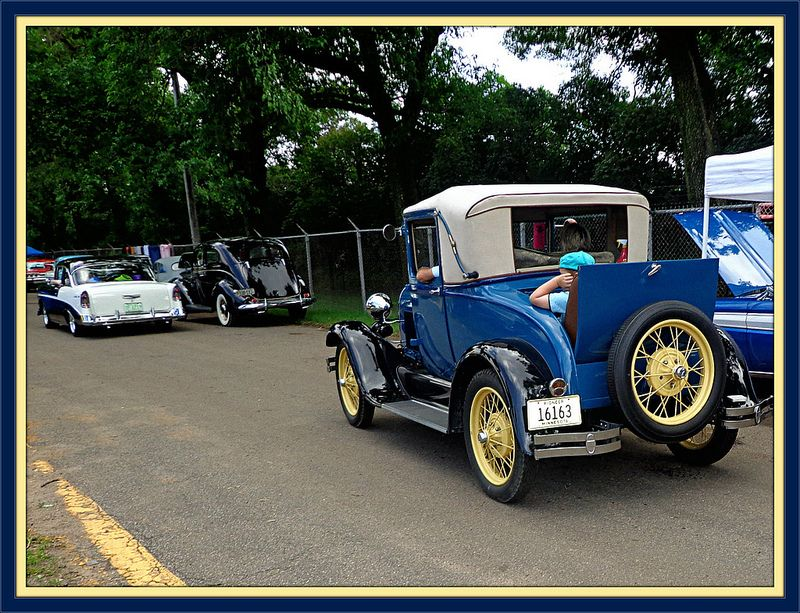 Ridin' in the Rumble Seat. | by novice09