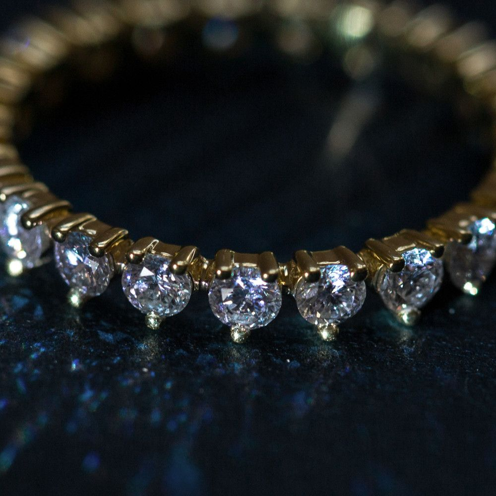 Geren diamond band bling and gold