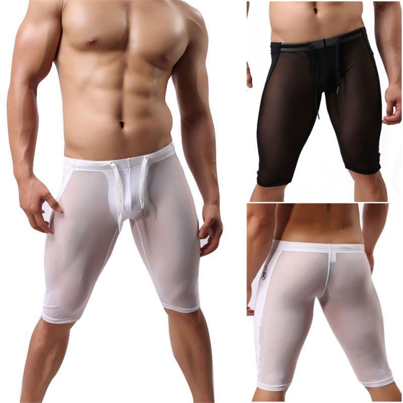 fd6e0f04899 Mens Sexy Transparent Super Thin Sport Shorts Underwear #Sexy #Mens ...