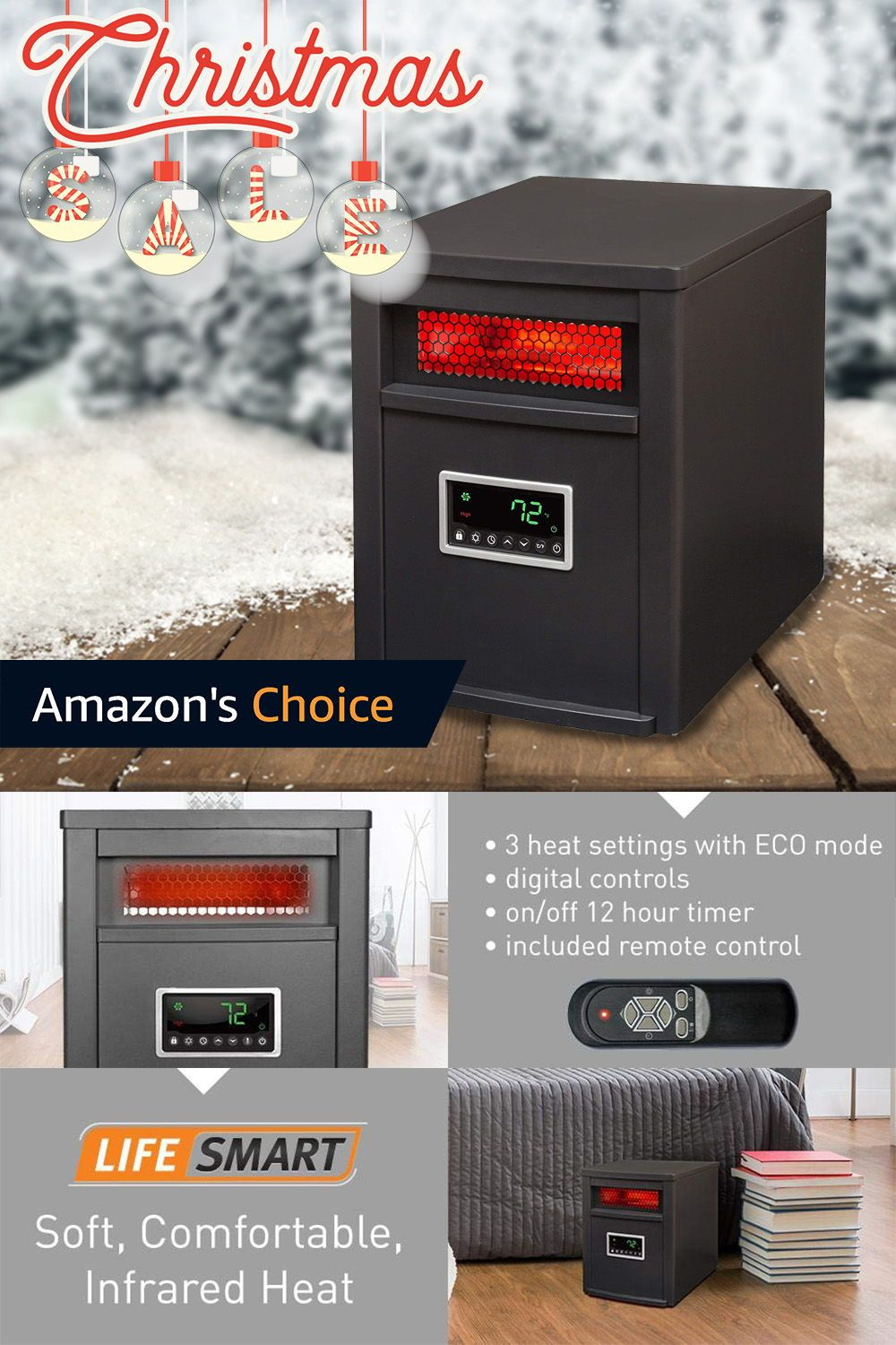 Top 10 Infrared Room Heaters April 2020 Reviews Buyers Guide Room Heater Heater Infrared Heater