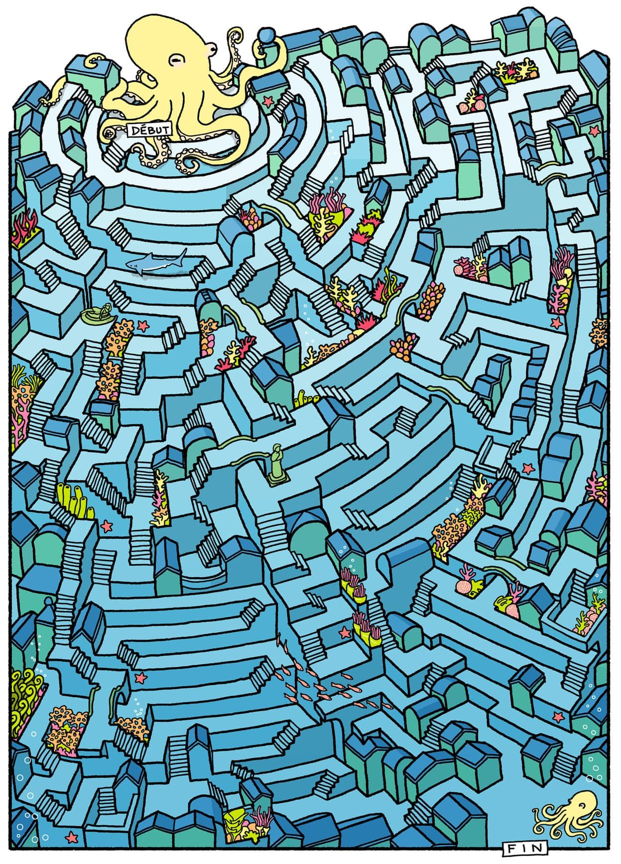 Amazing Mazes Cities Become Graphic Puzzles In Pictures