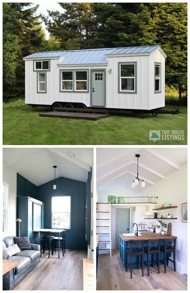 Seabrook Tiny Home - Tiny House Trailer for Sale in Battle Ground, Washington #tinyhomes