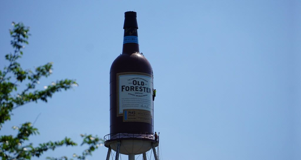 Old Forester Unveils 100 000 Gallon Bottle Of Kentucky Straight Bourbon
