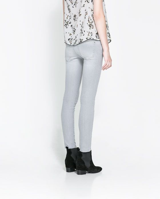 Image 3 of SKINNY FIT JEANS from Zara