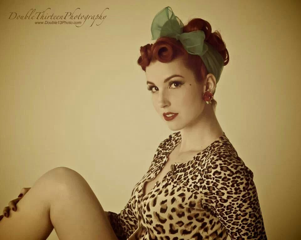 Sexy psychobilly pinup — pic 8