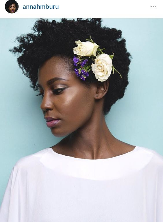 15 Ways To Style Your Natural Hair For A Wedding Look 6 Statement