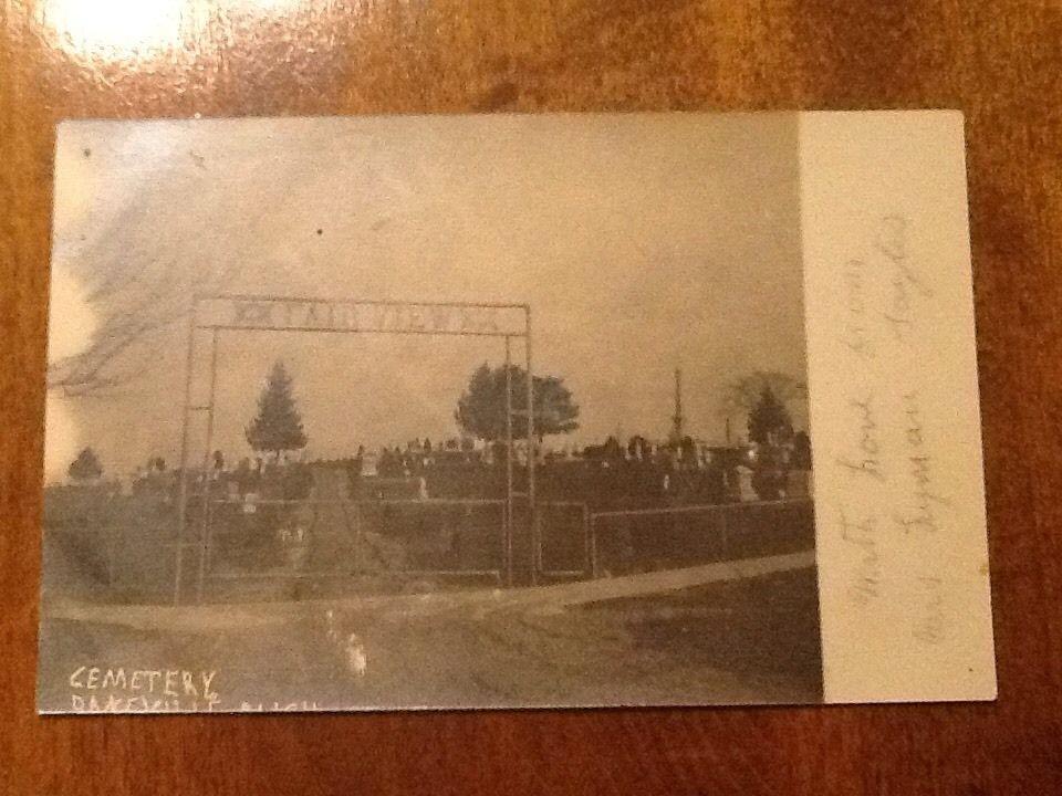 Image result for Fairview Cemetery  (Dansville, MI)