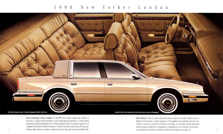 1990 Chrysler New Yorker With Images Chrysler Cars Chrysler