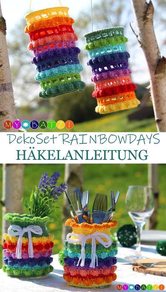 Photo of Häkelanleitung RAINBOWDAYS