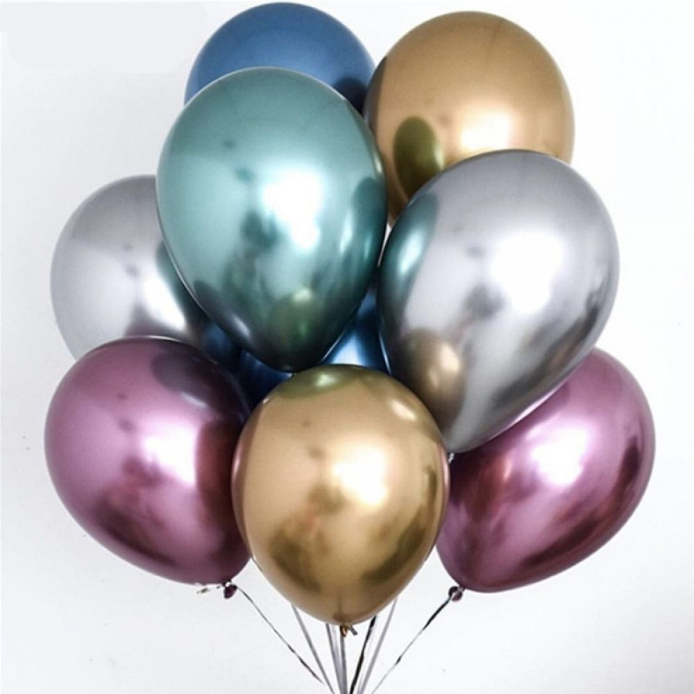 10pcs 12/'/' Double Layer Latex Balloons Baby Shower Birthday Wedding Party Decor