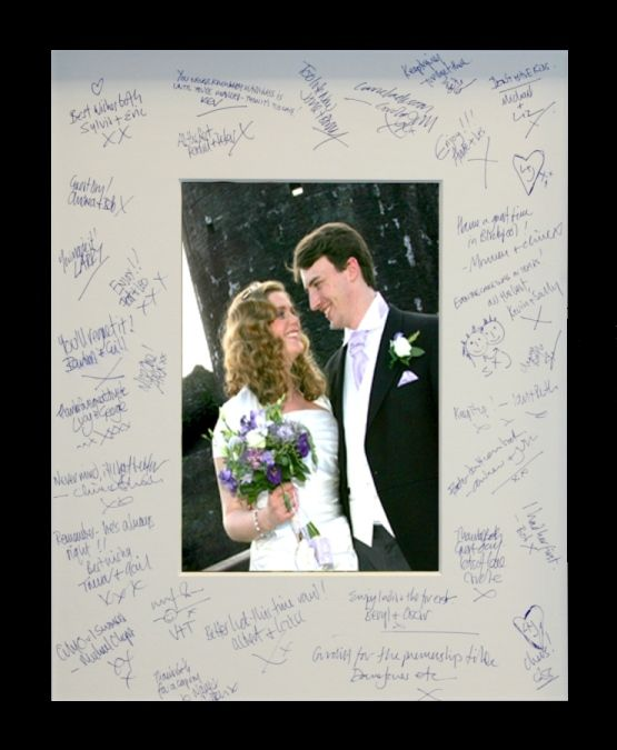 wedding photo frame to sign wedding plan 1000 images about special occasion wedding signature frames on
