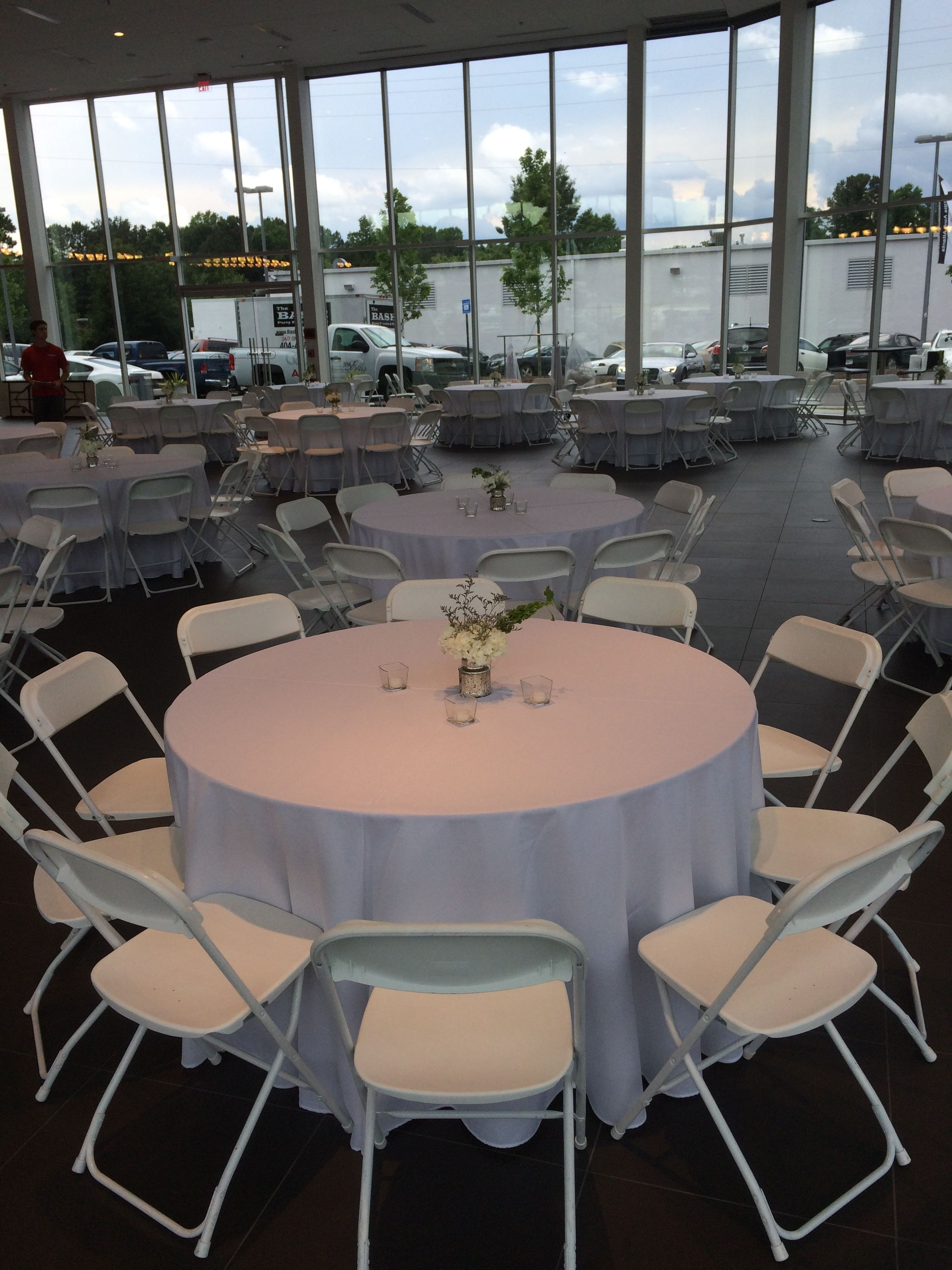 Chair Rental Atlanta White Hercules Chairs And 60